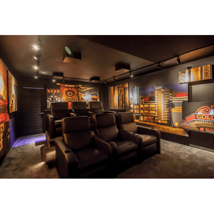 Theaters Media Rooms