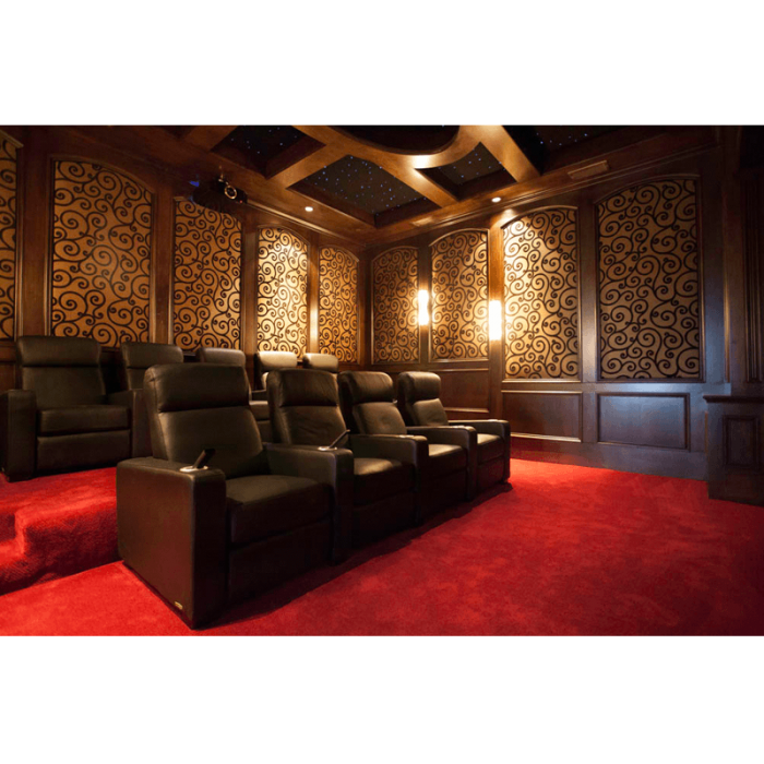 Custom Home Theater Media Room Design in San Diego CA Acoustic